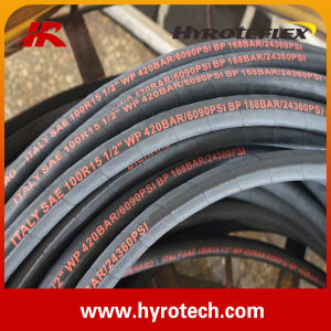 Hydraulic Hose SAE 100r15/Rubber Hose/Spiralled Hose pictures & photos