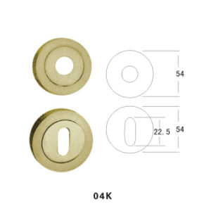 Zinc Alloy Escutcheon (04K) pictures & photos