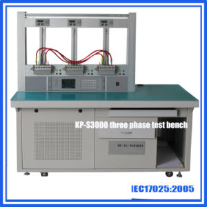 Three Phase Energy Meter Calibration Test Bench 3 Postion 0.05% Accurancy pictures & photos