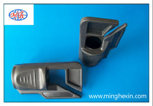 Gray Plastic Injection Molding Part with ISO SGS pictures & photos
