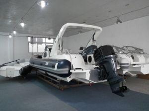 Liya 8.3m Cabin Rib Boat Rigid Inflatable Boat Large Passenger Boat Boat Rib Yatch pictures & photos