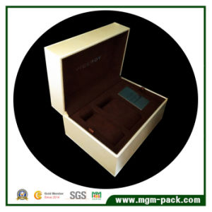 Luxury Custom Wooden Watch Box with Two Pillows pictures & photos