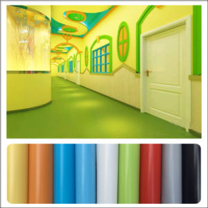 Factory Direct Selling Eco-Friendly Plastic PVC Vinyl Laminate Flooring pictures & photos