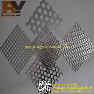 Polish Stainless Steel Punching Hole Sheet pictures & photos