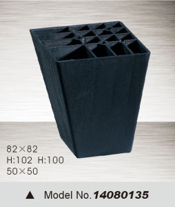 Black Plastic Furniture Leg, Sofa Leg (14080135) pictures & photos