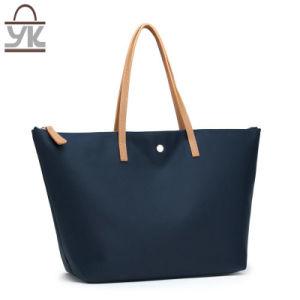 Fashion Contrast Color Nylon Women Handbag pictures & photos
