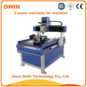 Desktop CNC Carving Router Machine Price for MDF Acrylic Wood pictures & photos