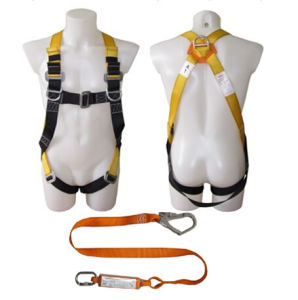 Full Body Safety Harness with Shock Absorder pictures & photos