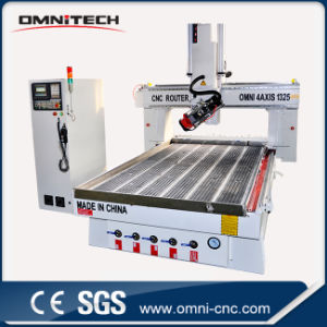 1325-4axis Auto Tool Changer CNC Wood Carving Machine with Ce pictures & photos