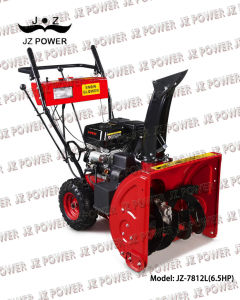 Snow Blower/Snow Thrower,6.5HP,with Tyre (JZ-7812L)
