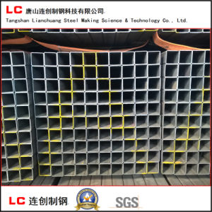 Black Square Steel Pipe for Structure Building Export Korea pictures & photos