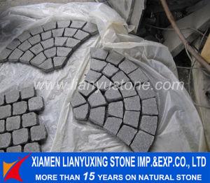 G684 Black Stone Paver Patterns