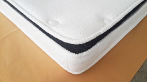 Pillow Topper Bonnell Spring Mattress pictures & photos