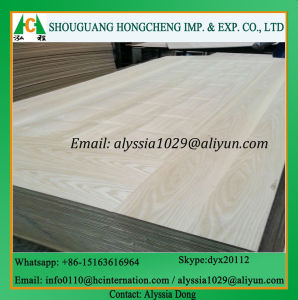 Wood Veneer HDF Door Skin pictures & photos