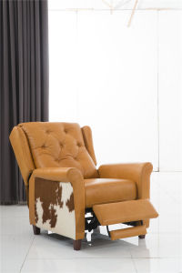 Golden Color Electric Recliner Furniture pictures & photos