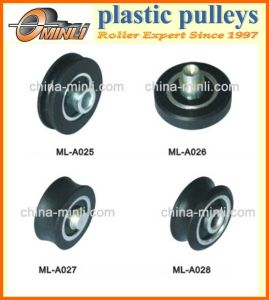 Plastic Coated Door and Window Sliding Pulley Roller pictures & photos