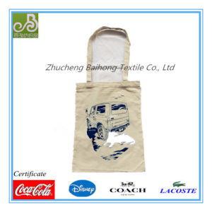 Cotton/Polyester Promotional Shopping Bag with Print
