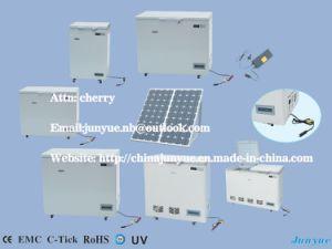 108L 12V 24V DC Solar Compressor Refrigerator pictures & photos