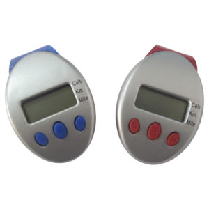Multifunction Pedometer with Belt Clip (QPM-012) pictures & photos