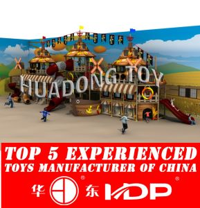 Huadong Indoor Playground New Style Pirate Ship (HD2015B-007A) pictures & photos