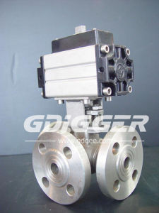 Three Way Ball Valve Gas Control Valve