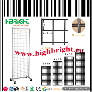 Customzied Grid Wire Panel Display Stand pictures & photos