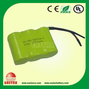 NiMH Battery Pack with 3.6V 3300mAh with Factory Price pictures & photos