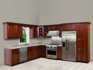 Kitchen Furniture Solid Maple Kitchen Cabinets pictures & photos