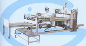Semi-Auto Gluing Machine pictures & photos