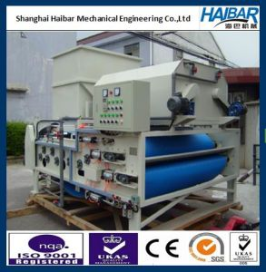 Wastewater Treatment Process Equipment for Municipal Sludge Dewatering