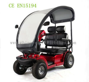 48V/75ah Battery Two Saet Mobility Scooters in China (LN-004) pictures & photos