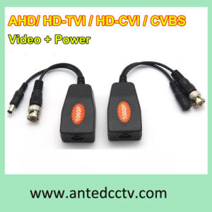 1 Channel Passive Ahd HD-Tvi Cvi UTP Video + Power Transceiver HD Coaxial Video Balun UTP pictures & photos