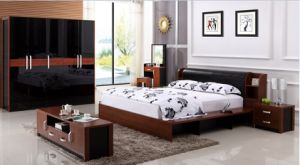 2017 Modern Bedroom Bed 13b-05# (C)