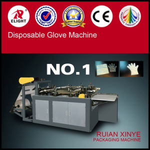 Long Sleeve Plastic Glove Making Machine pictures & photos