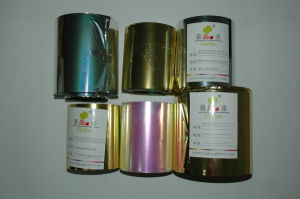 Metallic Film for Metallic Yarn and Glitter Powder pictures & photos