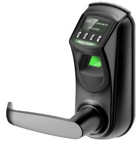 Zinc Alloy OLED Display Zk Software Digital Biometric Fingerprint Door Lock pictures & photos