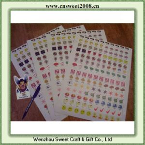 Custom Printed Decorative PVC Stickers (S2P024) pictures & photos