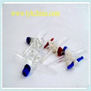Laboratory Glassware Measuring Cylinder Cock Stopper by Borosilicate Glass pictures & photos