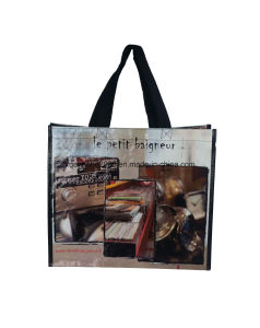 Promotional Custom Colorful Printing Shopping Tote BOPP Laminated PP Woven Bag pictures & photos