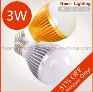 2013 E27 3W LED Bulbs Lamp Light CE RoHS