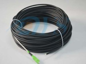 Fiber Optic FTTH Sc/APC Flat Patch Cord pictures & photos