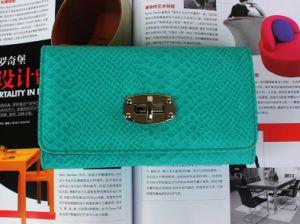 Snake Pattern Fashion Wallet for Lady (E13143)