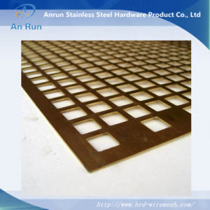 Square Hole Perforated Metal for Market Shelf pictures & photos