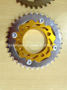 Motorcycle Modify Parts, CNC Sprocket for Motorcycle Modify Parts Replacement Parts Motorcycle Brake Disc pictures & photos
