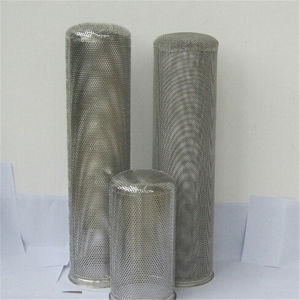 Ss304 Wire Mesh Filter Basket for Filter Cylinders pictures & photos