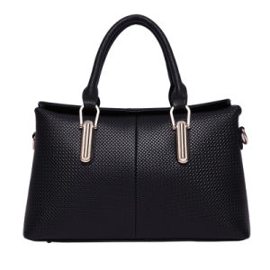The Newest Fashionable Big PU Leather Lady Handbags pictures & photos