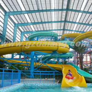 Skin Raft Open Spiral Water Slide pictures & photos