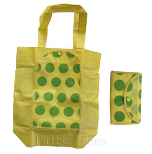Foldable Zip Bags with Button (hbnb-501) pictures & photos