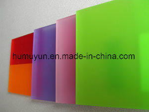 ISO Certified Competitive Price High Gloss Clear Colored Cast Acrylic Sheet / PMMA Sheet