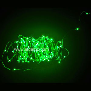 LED Copper String Christmas Light (LKY-BO-light-Green) pictures & photos